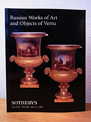 Russian Works of Art and Objects of Vertu. Auction at Sotheby's New York, June 11, 1998. Sale 7150