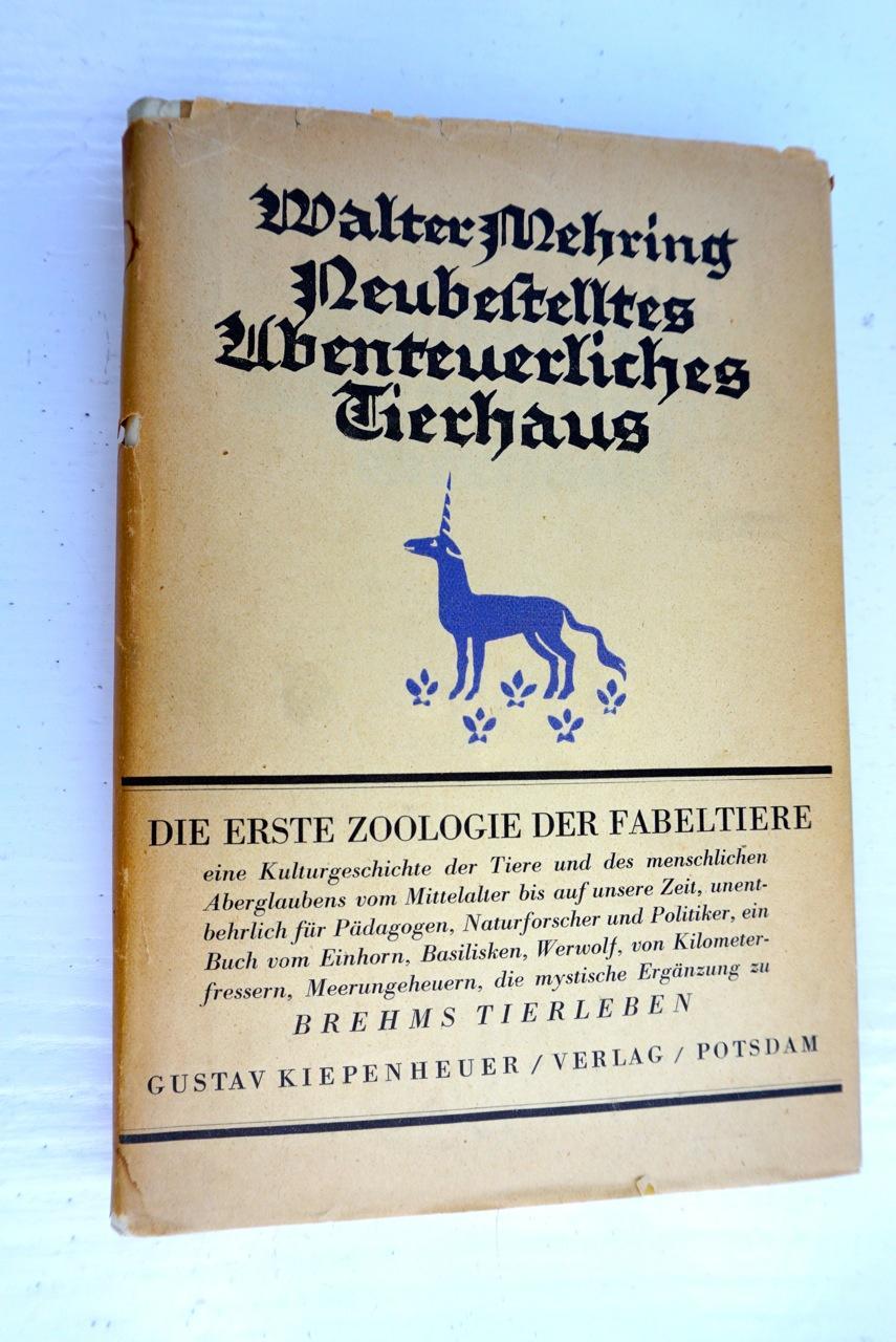 Neubestelltes Abenteuerliches Tierhaus.: Mehring,Walter