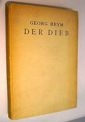 Der Dieb.: Heym,Georg