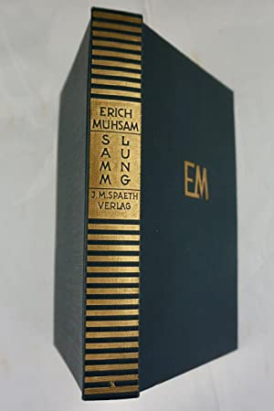 Sammlung. 1898?1928.: Mühsam,Erich