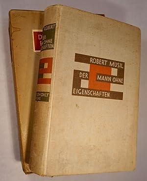 Der Mann ohne Eigenschaften.Erster Band.Erstausgabe. 1.-5. Tausend.: Musil,Robert