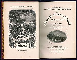 Les grands navigateurs du XVIII° siècle par: VERNE, Jules