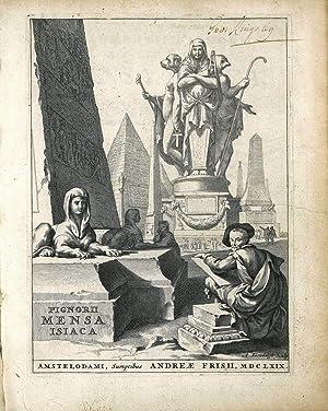 Laurentij Pignorij Patauini Mensa Isiaca, qua sacrorum: Pignoria Lorenzo