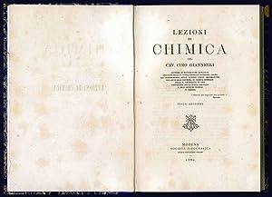Lezioni di chimica del cav. Ciro Giannelli: GIANNELLI, Ciro (sec.