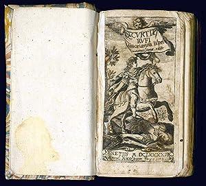 Q. Curtii Rufi Historiarum libri accuratissimae editi.: Curtius Rufus Quintus