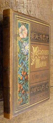 Melcomb Manor A Family Chronicle.: Potter, F. Scarlett.
