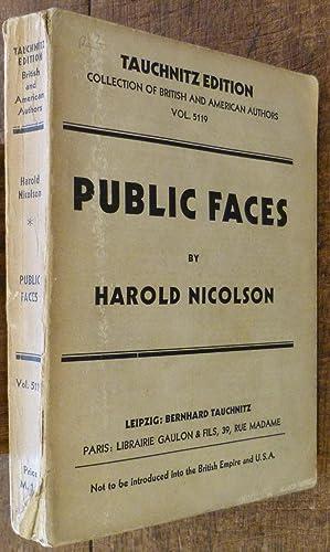 Public Faces: Nicolson, Harold