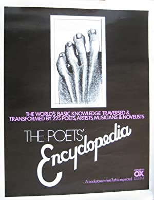 MARISOL Escobar: Poster for The Poets' Encyclopedia from Unmuzzled OX with drawing by Marisol....