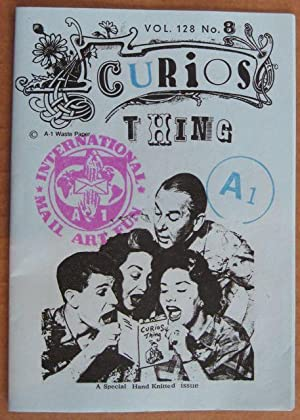 CURIOS THING Vol. 128 No. 8 (Includes pin-on Button) Signed and Numbered A. 1. Waste Paper Co.: ...