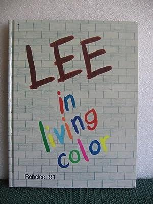 Rebelee 1991 Yearbook, Robert E Lee, High
