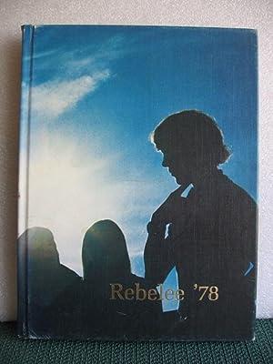 Rebelee 1978 Yearbook, Robert E Lee, High