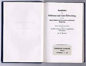 Geschichte des Golfstroms und seiner Erforschung von: Kohl, J[ohann] G[eorg]: