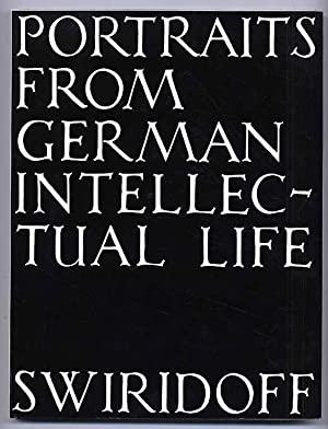 Portraits from German intellectual life.