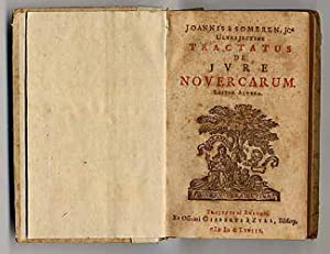 Joannis à Someren JC ultrajectini tractatus de jure novercarum.
