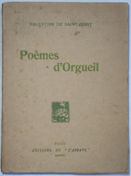 Poèmes Dorgueil