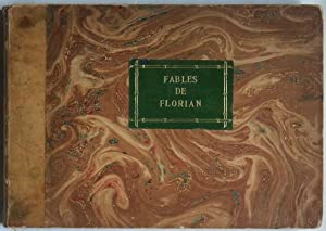 Fables choisies de J.-P. Claris de Florian,: BARBOUTAU (Pierre)] FLORIAN