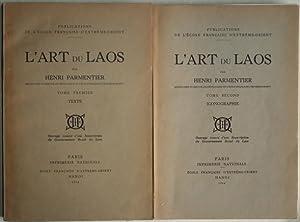 L'art du Laos, tome I: texte, tome: PARMENTIER (Henri),