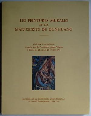 Les peintures murales et les manuscrits de: DUNHUANG] [TOUEN-HOUANG],
