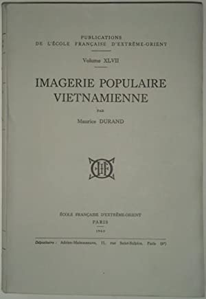 Imagerie populaire vietnamienne,: DURAND (Maurice),