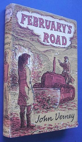 February's Road - AUTHOR SIGNED: Verney, John