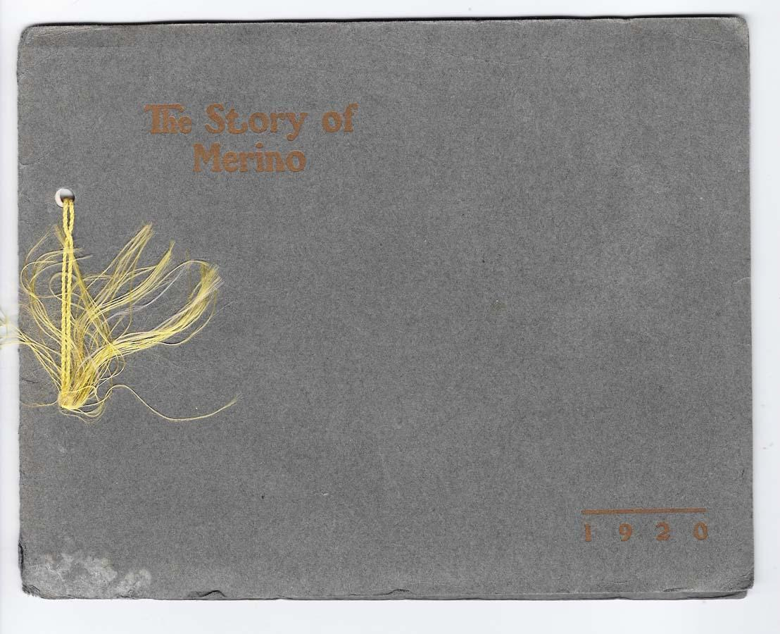 The Story Of Merino, 1920 Minnie May Herzer Near Fine Softcover