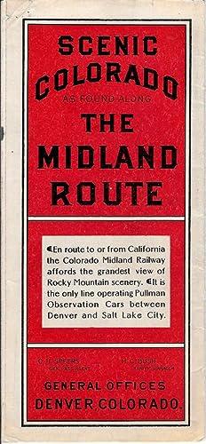 COLORADO MIDLAND RAILWAY SCENERY, circa 1890: Charles Frey