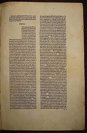 Libro primo della naturale historia di C.Plinio: Plinio (Caius Plinius