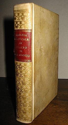 Historia pontificale di Milano, nella quale descrivendosi: Besozzo Gio. Francesco