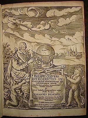 Introductio in universam geographiam veterem quam novam.: Cluverius Philippus
