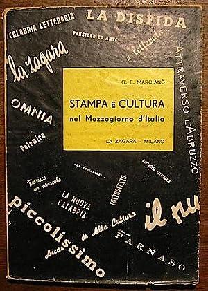 Stampa e cultura nel Mezzogiorno d Italia: Marcianò Giuseppe Elio