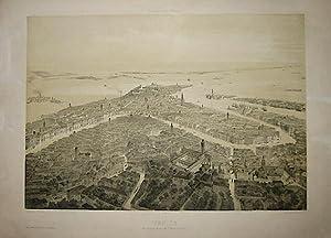 Venise. Vue prise au dessus de Santa: Guesdon Alfred (1808-1876)
