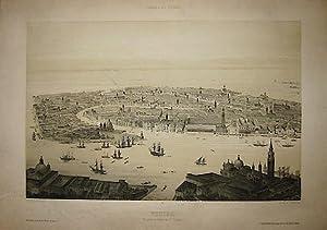Venise. Vue prise au dessus de St.: Guesdon Alfred (1808-1876)