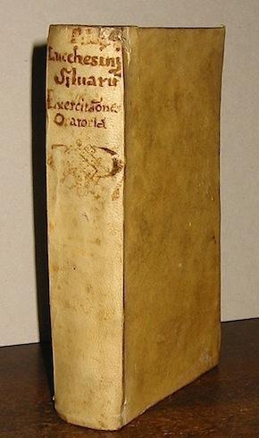 Silvarum Liber primus. Sive exercitationes oratoriae anni: Lucchesinius Ioannes (e