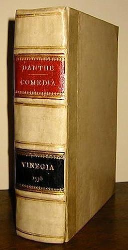 Comedia del divino poeta Danthe Alighieri, con: Alighieri Dante