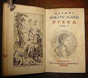 Quinti Horatii Flacci Opera. Vol. I (e: Orazio (Quintus Horatius