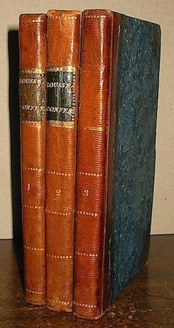 Les Confessions, en six livres. Ouvrage posthume.: Rousseau Jean-Jacques