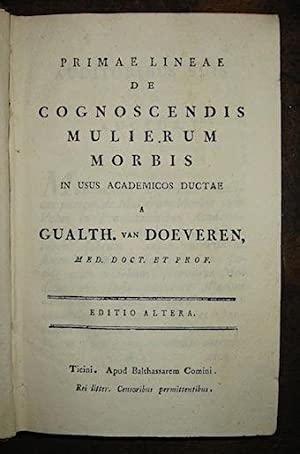 Raccolta di opuscoli medici]: Van Doeveren G.,: AA.VV.