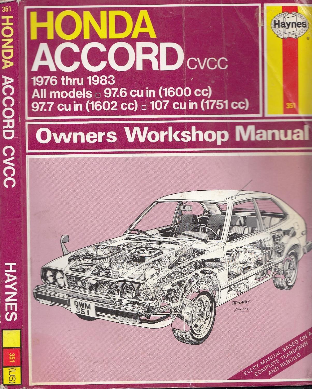 honda accord cvcc 1976 1983 haynes manuals 5p4 351 by haynes rh abebooks com Honda Accord Coupe Honda Accord Coupe
