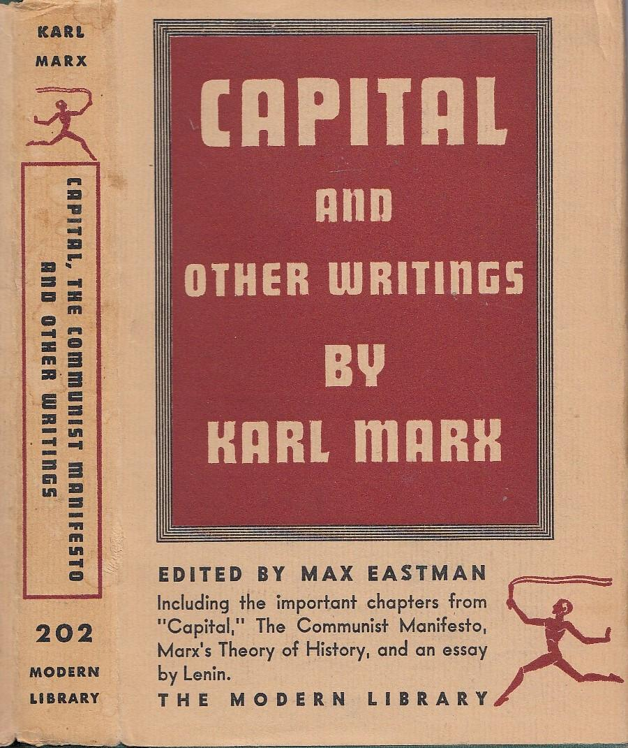 capital communist manifesto other writings