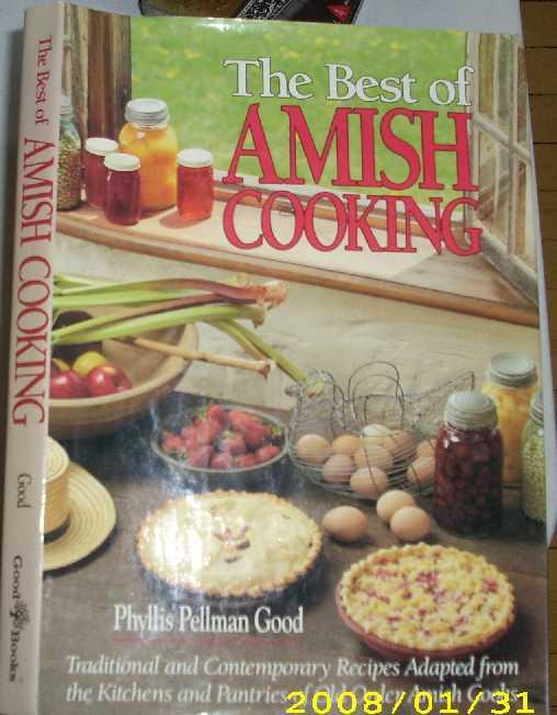 The Best of Amish Cooking: Traditional and