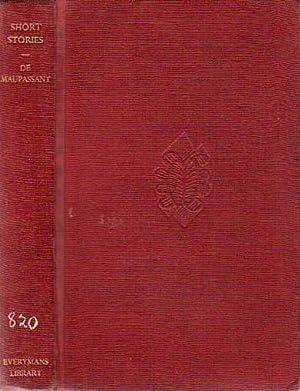 Short Stories EVERYMAN'S LIBRARY # 907: De Maupassant, Guy