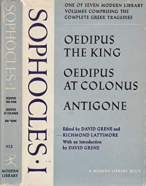 The Complete Greek Tragedies Volume III Oedipus the King; Oedipus at Colonus; Antigone MODERN LIB...