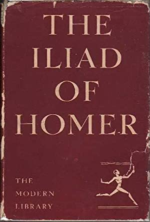 The Iliad of Homer MODERN LIBRARY # 166