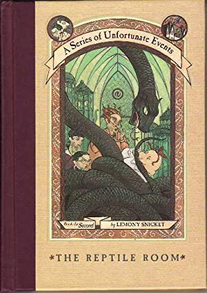 The Reptile Room A Series of Unfortunate Events Book the Second