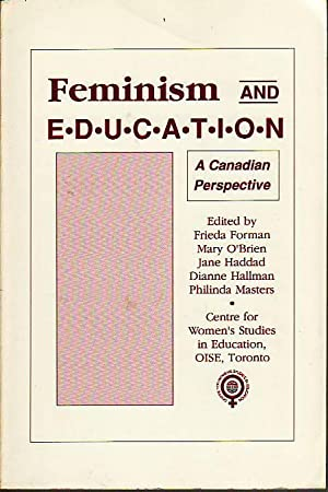 Feminism and Education : A Canadian Perspective