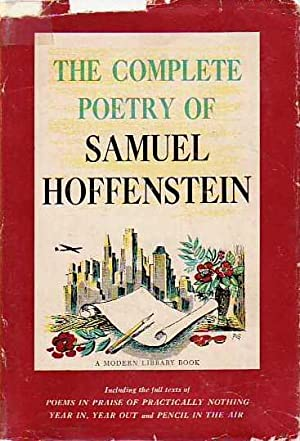The Complete Poetry of Samuel Hoffenstein MODERN LIBRARY # 255