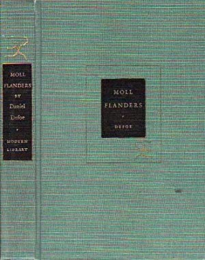 The Fortunes And Misfortunes of the Famous Moll Flanders &c. MODERN LIBRARY # 122