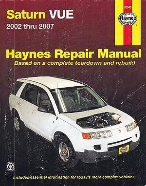 Saturn VUE, Automotive Repair Manual 2002-2007 (Haynes: Imhoff, Tom; Haynes,