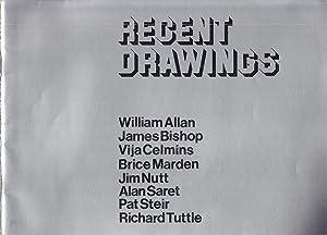 Recent Drawings: William Allan; James Bishop; Vija: Solomon, Elke M.