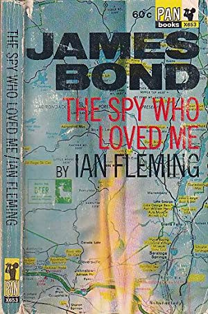 The Spy Who Loved Me James Bond PAN X653